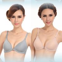 free shipping women anterior cingulate adjustment bra sexy Ladies deep V-neck lingerie 6color