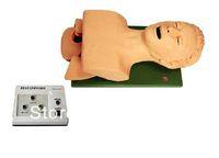 Teeth alarm endotracheal intubation training model,Electronic model of human tracheal intubation