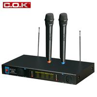 Professional ktv wireless microphone cok w-1000a