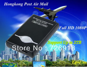 """New H9 Mini Portable 2.5"""" HDD Media Player Full HD 1080P 3D HDMI RM-SD USB MKV(Support Up to 2TB, HDD enclosure)"""