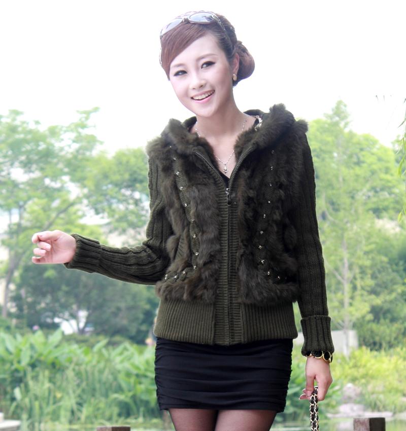 Женская одежда из меха Chopop