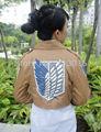 Attack on Titan Cosplay Survey Legion Costume Jacket Coat free shippping