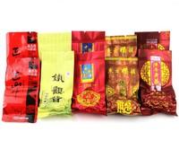5 different flavors total 10 bags Chinese Fujian anxi tieguanyin oolong tea tie guan yin tea oolong milk oolong black tea bags