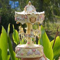 Oversized automatic lifting lantern music box music box birthday gift girls