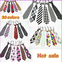 Free Shipping  NEW 2013 Fashion baby/kid/children ties neck tie Boys Girls tie 20pcs/lot silk print neckties baby accessories