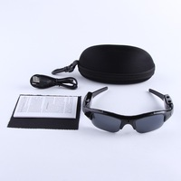 Wholesales Mini DV DVR Sun glasses Camera Audio Video Recorder On Line,Digital Mobile Eyewear Recorder Free shipping +Package