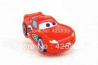 Free Shipping 10pcs Red Colour Car Cartoon Pulls Cabinet Knobs Furniture Kids Dresser Pull Children Bedroom Desk Knob