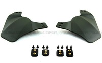 Side 2 Face Cover Protection for Airsoft Fast Mich OPS Helmet Rail System Green free shipping