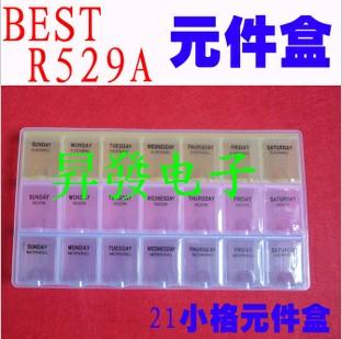 Component box 21 grid boxes of parts IC Box(China (Mainland))