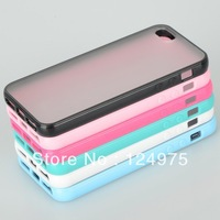 1PCS New Colorful Soft Plastic Back Cover Case fit for iPhone 5 5G 6th JA CM152