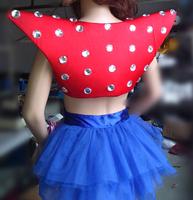 Fashion gaga female singer fashion costume ds costumes fashion paillette vest