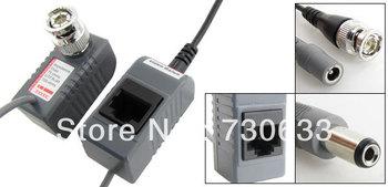 CCTV Camera BNC 2.1x5.5mm Video Power Balun 200M UTP Transceiver
