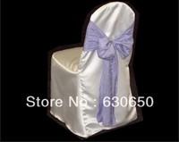 White Stain Banquet Chair Cover/Wedding Chair Cover/Stain Chair Cover