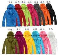 New hot outdoor sports Men Women jackets, summer ultralight anti - UV speed drying couple shirt