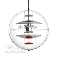 Free shipping Dia 40CM Verner Panton VP Globe Pendant Light Dining room Lamp Lighting Fixture PL158