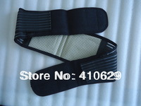 Wholesale Tourmaline Magnetic Therapy Belt Lumbar Back Waist Support Brace Double Banded Adjustable Pad Free Shipping