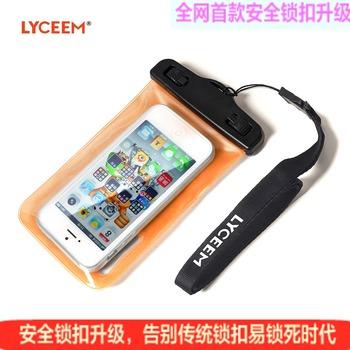 Lyceem outdoor mobile phone waterproof bag  for iphone   4s 5 mobile phone case submersible waterproof bag