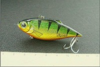 Free shipping Lure hard bait water vib rhc-60 7g color beads