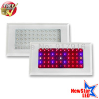 Free Shipping 2pcs/set 55x3w LED hydroponic grow box for hydroponic system and greenhouse lighting