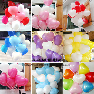 Heart star according to marry balloon marriage decoration cartoon