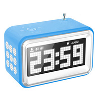 FreeShipping+ Alarm clock multifunctional radio audio speaker mobile phone computer mp3 electronic gifts