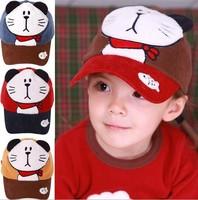 Children Baseball Caps For Boys Girls Baby Outdoor Sun Hats Sported Baseball Caps Adjustable Bone Snapback For Children 2-7