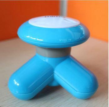 Free shipping 2pcs/lot Massage device shear-leg massage device mini massage device trigonometric massage device usb line
