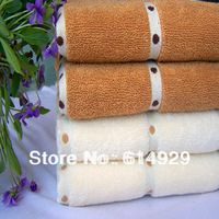 Free shipping 100% cotton towels, super soft strong absorbent towel 34 * 76CM