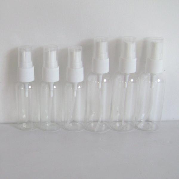 High-grade 30ml Transparent Plastic Spray Bottle Refillable Bottle Perfume PET Bottle with Spray Pump(China (Mainland))