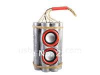 Free shipping 1Piece USB Card Bomb Speaker / Bombshell Speaker Radio / MP3 player Speaker