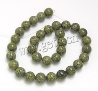 Free shipping!!!Russian Serpentine Beads,Guaranteed 100%, Round, natural, 8mm, Hole:Approx 1mm, Length:Approx 15.5 Inch