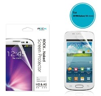 Mobile screen protector,Compatible for Samsung Glaxy S3 mini/8190,HD membrane, With package,Free shipping