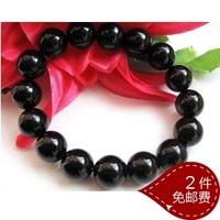 Fashion boys gem black bracelet small accessories jewelry popular