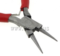 Free shipping!!!Jewelry Plier,Hot Style, Iron, with Rubber, nickel, lead & cadmium free, 85x130x10mm, 5PCs/Lot, Sold By Lot