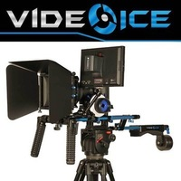 Professional Camera Rig Supports Video Ice Shoulder Mount Follow Focus Matte Box HDMI Monitor Support DSLR Rig