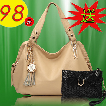 2013 women's handbag genuine leather women's handbag shoulder bag messenger bag new arrival