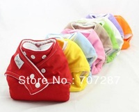 Free shipping HOT!1PC Adjustable Reusable Baby Washable Cloth Diaper Nappies +1PC Inserts A01