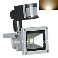 50W 30W 20w 10W PIR Motion Sensor Led Flood light Floodlight Landscape Lamp White AC 85-265V