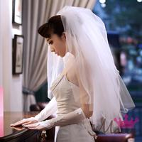 The bride wedding dress veil yarn bride dress accessories