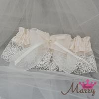 Western-style wedding garter bridal garter yarn bow garter opening garter