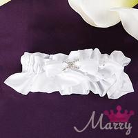 Western-style wedding garter bridal garter satin bow opening bridal gater