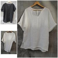 Chinese style men's clothing chinese style linen short-sleeve shirt