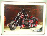 30*40CM Cool Motorcycle DIY Famous Poster Club Decor Home Decor Metal Sign Tin Painting Bar Decor