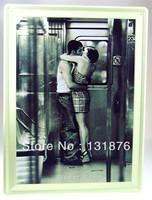 30*40CM 2013  Metro Tin Sign Lovers Romance Train Subway Poster Ads Poster Love Bar Pub Painting