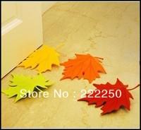 10xMulticolor Autumn Maple Leaf Home Decorative Ornament Door Stopper Doorstop