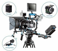 Professional Camera Rig Supports Wondlan Wireless DSLR Rig Video Shoulder Camera Mount Support System Stabilizer