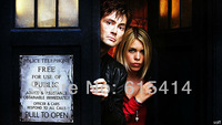 "03 Doctor Who space travel BBC TV show 42""x24"" inch wall Poster with Tracking Number"