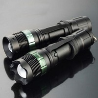 Cree q5 r2 glare flashlight led lighting charge focus zoom focusers outdoor household