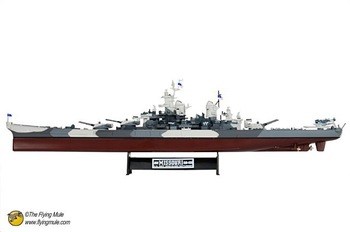 freeshipping ! FOV 1: 700 86203 WWII U.S. Iowa-class battleship USS Missouri alloy model simulation !