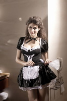 2013 costume halloween costumes black princess clothes maid uniform